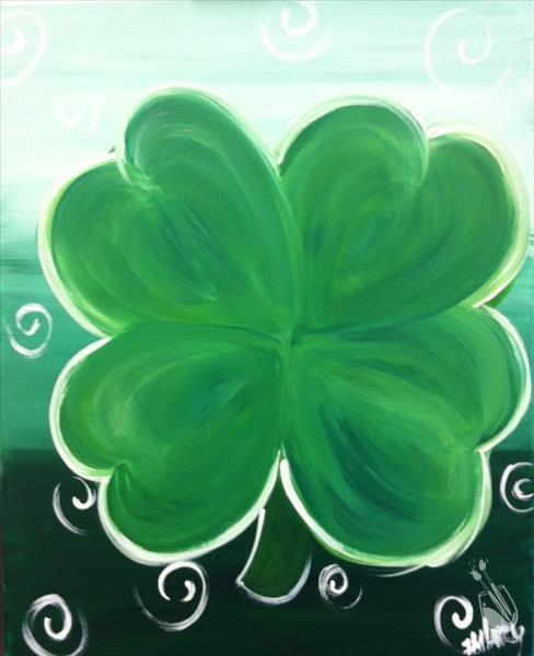 Lucky Shamrock -- Make it Glow