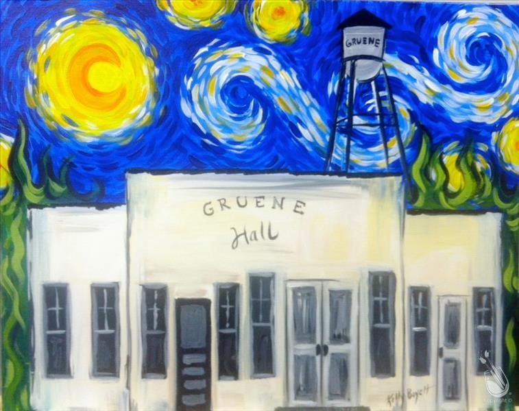 Starry Night Over Gruene Hall