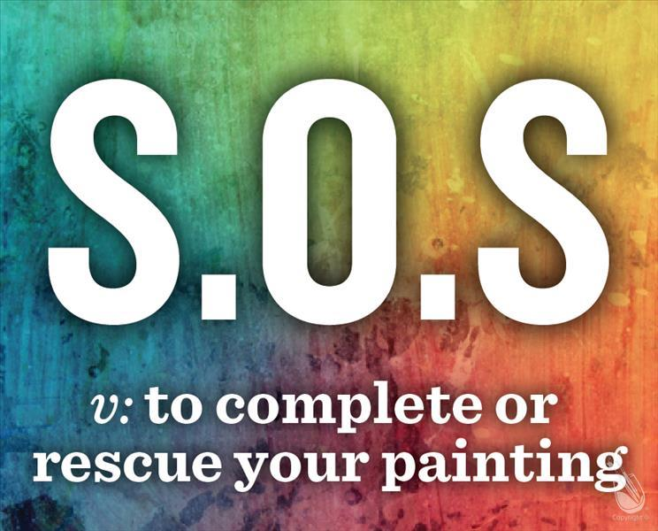 How to Paint S.O.S.- Fix Your Painting!
