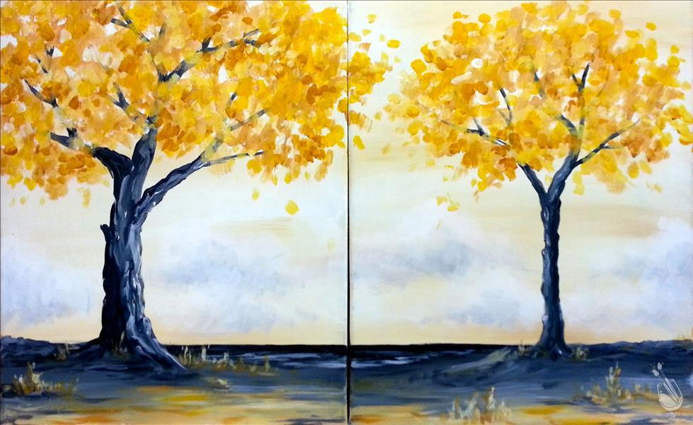 Golden Trees- Set or Single