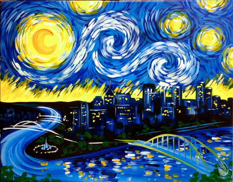 sold out starry night over pittsburgh saturday