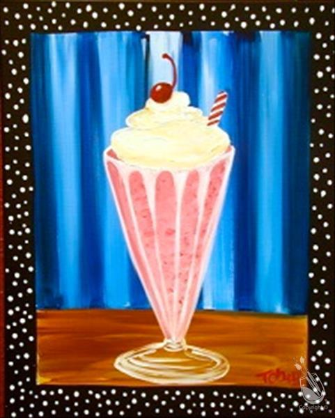 Pop Art Milkshake..Limited Seating