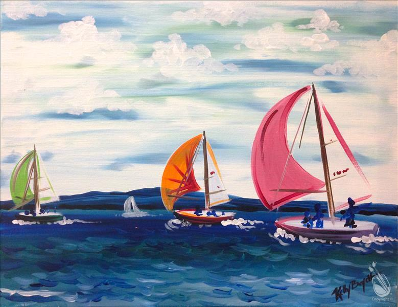 How to Paint DAD LET'S SAIL AWAY