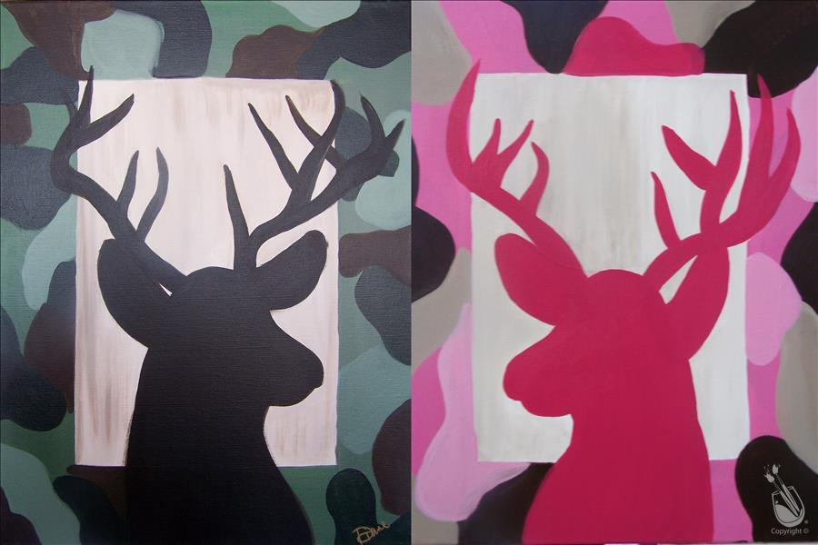 *Family Day* Camo Buck - Choose Your Color