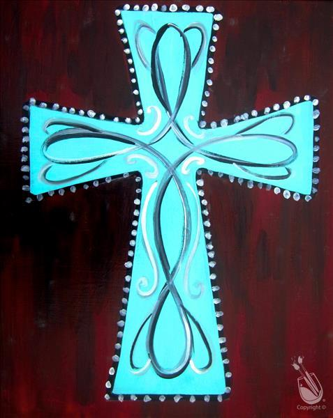 Turquoise Cross - 16&Up