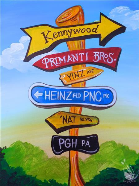 How to Paint Signs of the Burgh