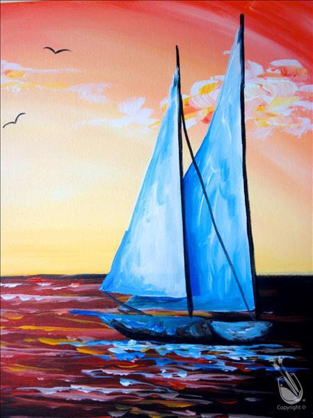 How to Paint Sail Away