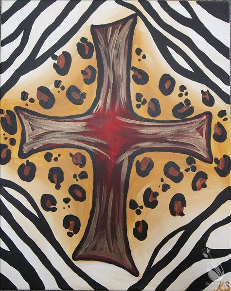 Cross of the wild tuesday september 8 2015 painting for Painting with a twist cedar hill tx