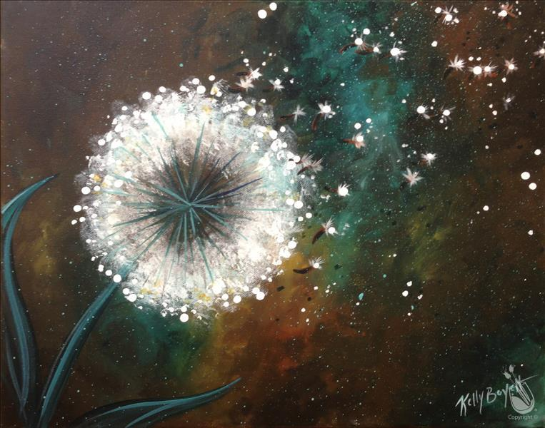 Make A Wish! {Painting with Purpose-LLS