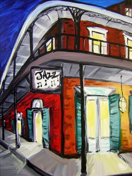 How to Paint NOLA Jazz Hall
