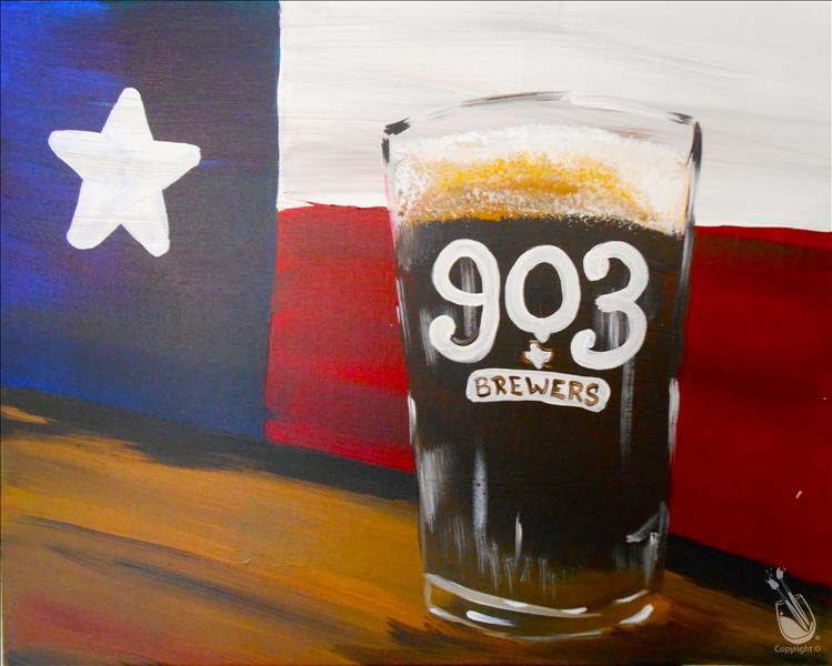 Texas pint adults only monday february 29 2016 for Painting with a twist alamo ranch