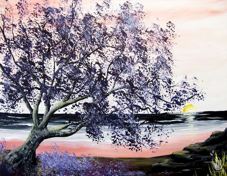 How to Paint Pretty in Purple Tree 2