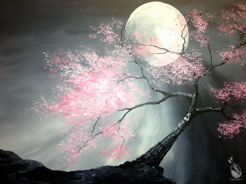 Wicked Moonlight - VIRTUAL Painting Party