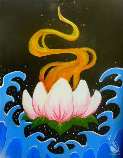 Burning Lotus