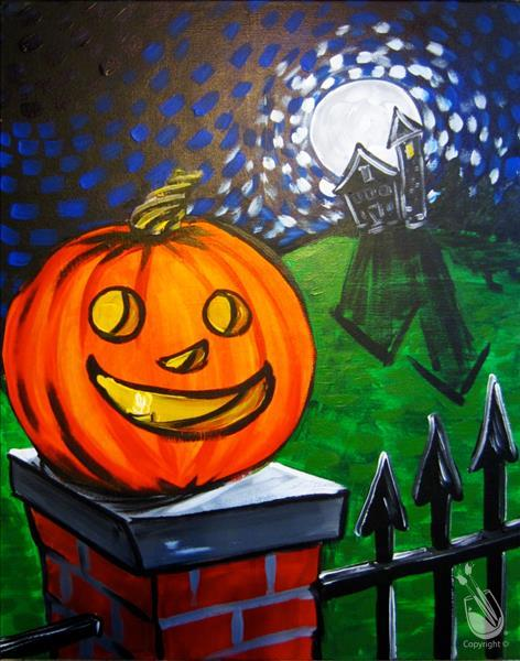 Afternoon ART: Happy Halloween: $5 OFF