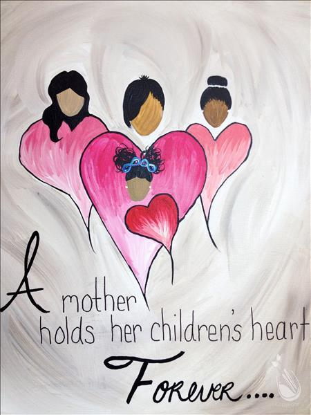 How to Paint A Mother's Heart (All Ages)