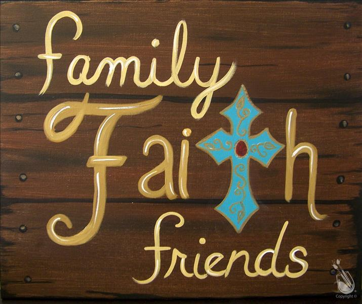 Family Faith Friends