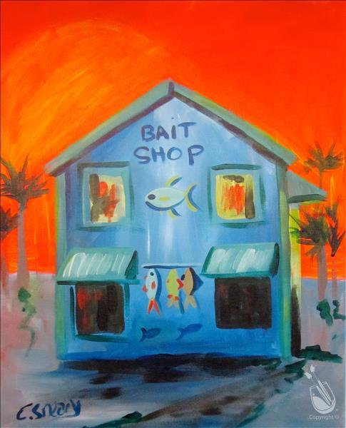Bait Shop...Limited Seating