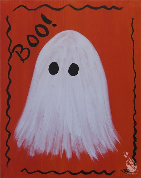 BOO! Family Workshop Option 1 (Ages 7+) $25