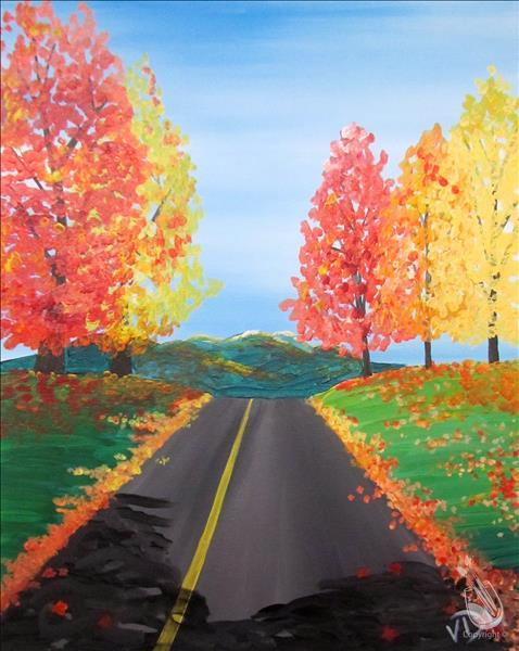 Afternoon Drive Saturday November 17 2018 Painting With A