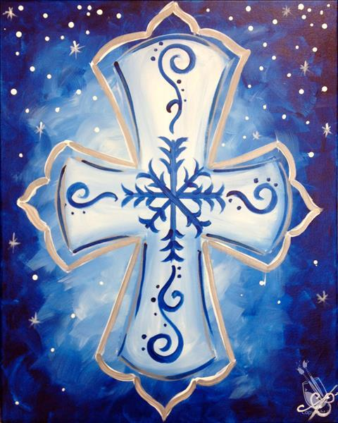 Snowy Cross