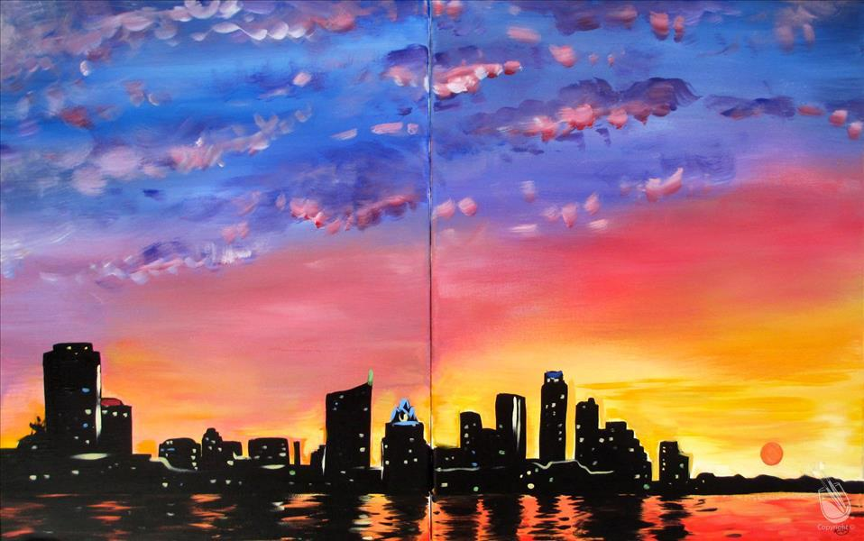 City Sunset--Date Night (Ages 18+)