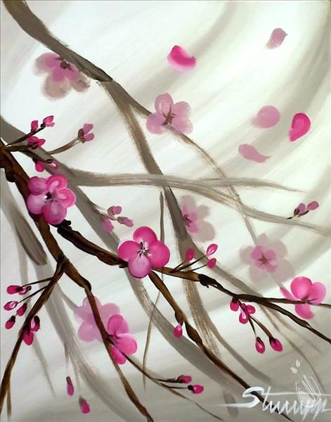 Japanese Blossoms  **DOUBLE PAINT POINTS**