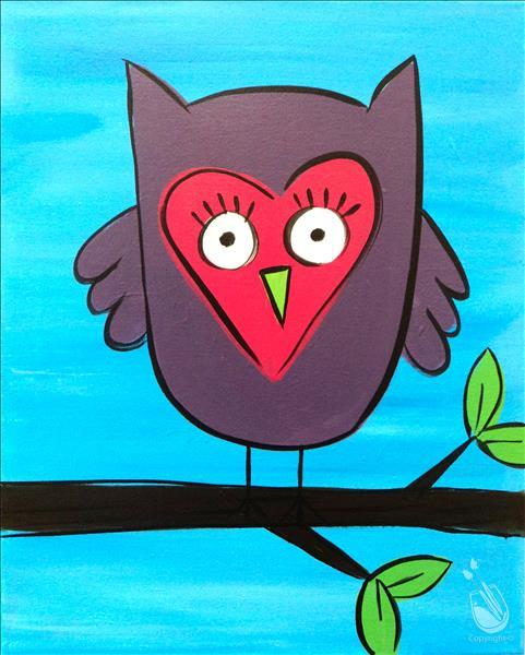 Blinky the Owl- ALL AGES!