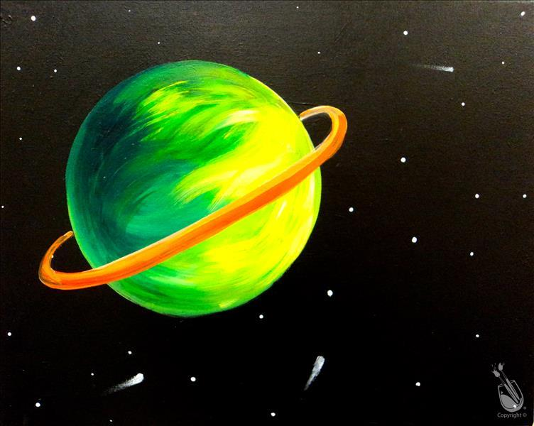 Space is the Place! Relax & Paint
