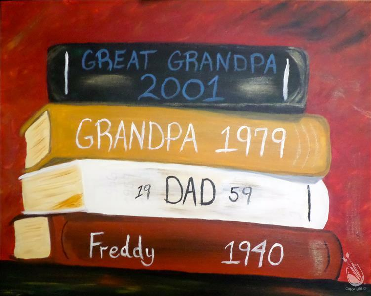 4 Generations, Personalize for Fathers Day