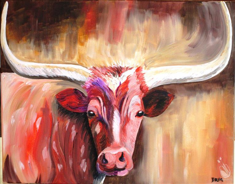 How to Paint Texas Horns
