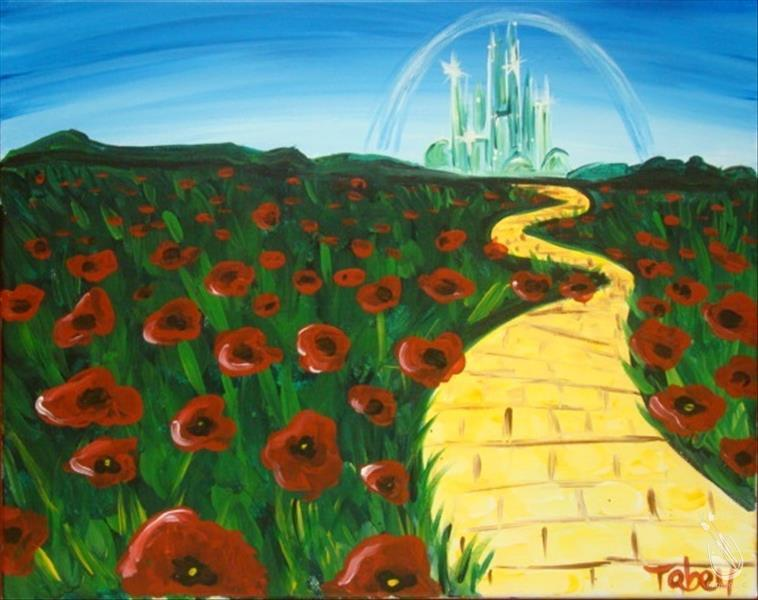 How to Paint Journey to Oz (Manic Monday! Only $25!)