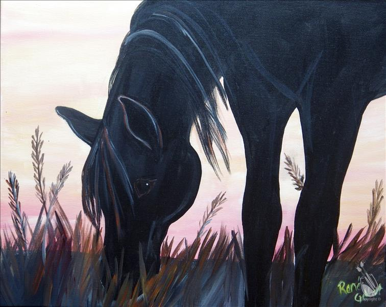 STENCIL SPECIAL Outer Banks Horse - $10 Off