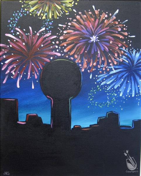 How to Paint Knoxville New Year