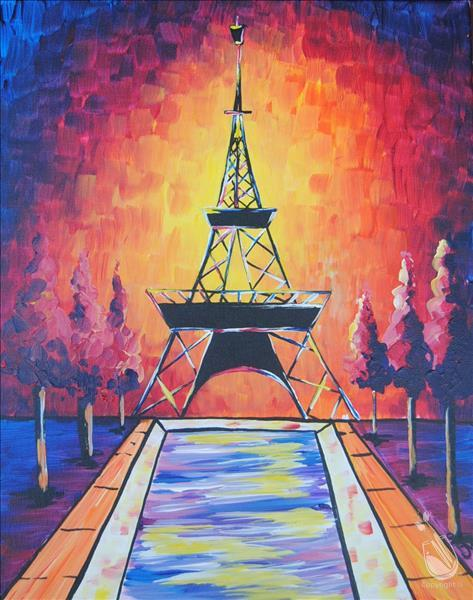 *IN-STUDIO SESSION* Vibrant Eiffel Tower