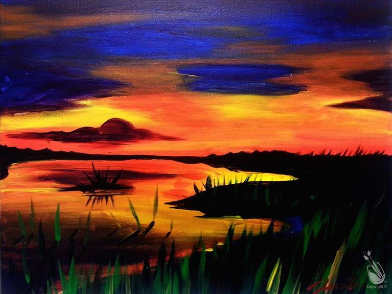 Limited Seating! - Marshland Sunset