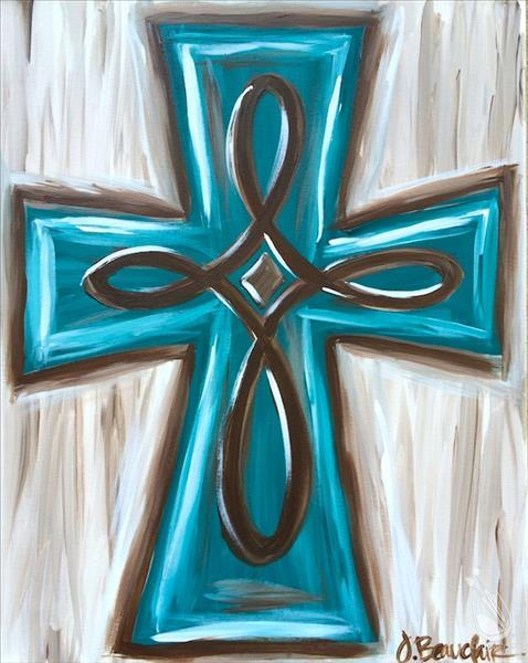 Turquoise Cross - Adults