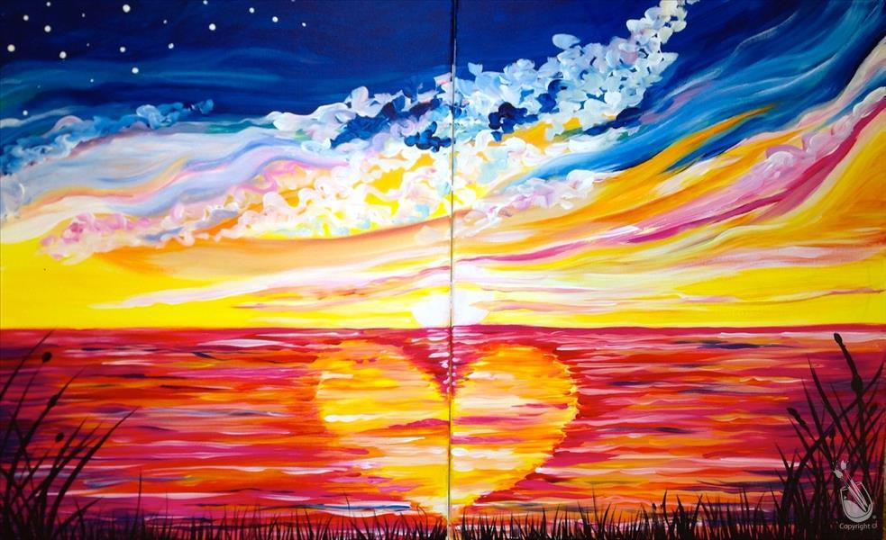 How to Paint Love Ripples *Set or solo option*