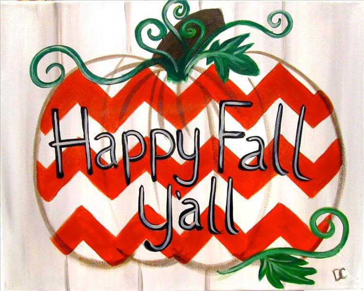 Happy Fall Chevron