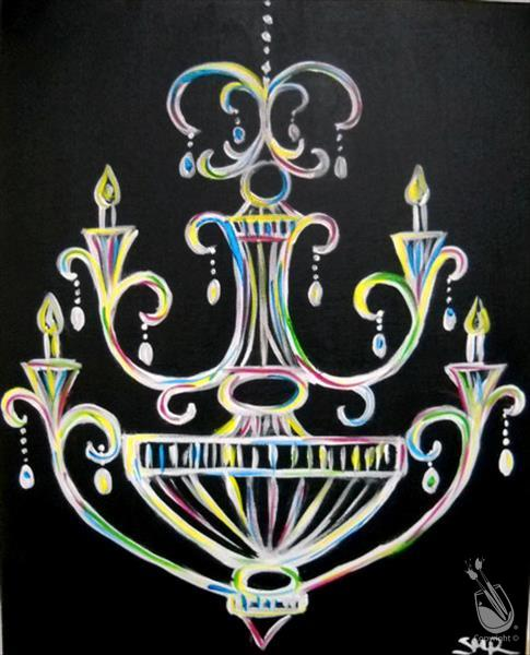 DAY CLASS! Funky Chandelier **LIMITED SEATING**