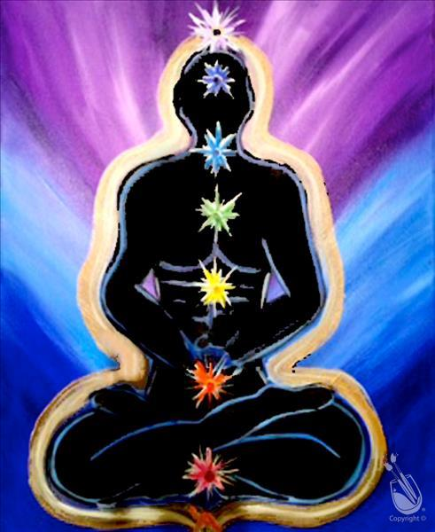 Seven Chakras - Zen Out and Paint!