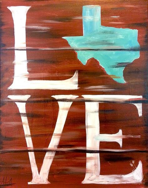 Texas Love - Teal
