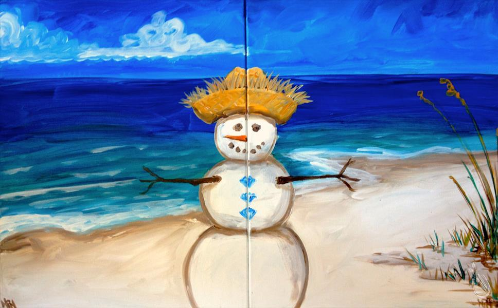 How to Paint Sandman - Single or Set - Christmas in July!