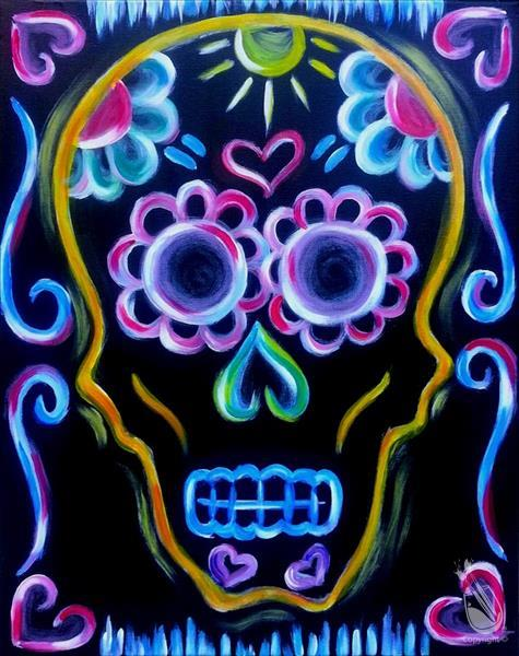 BLACKLIGHT:  Neon Skull