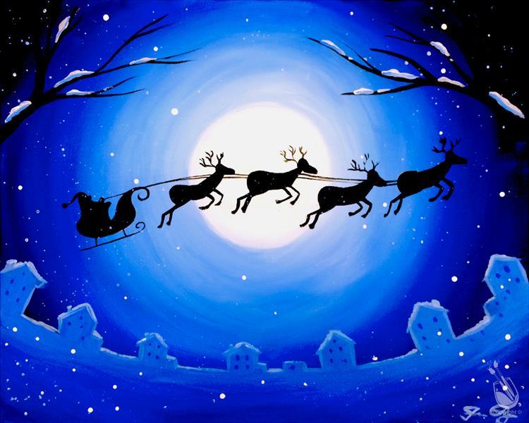 Moonlit Sleigh Ride