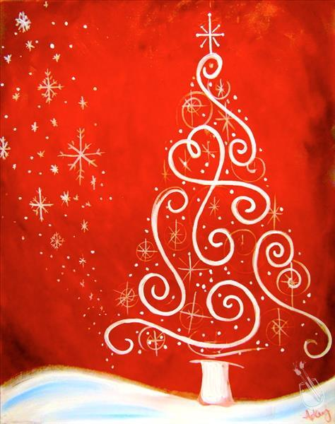 Holiday Magic Painting Party