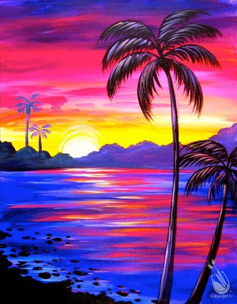 DATE/BFF Night **Pure Shores** Sip N Paint pARTy!