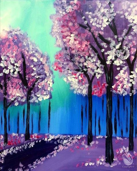 How to Paint Lavender Forest