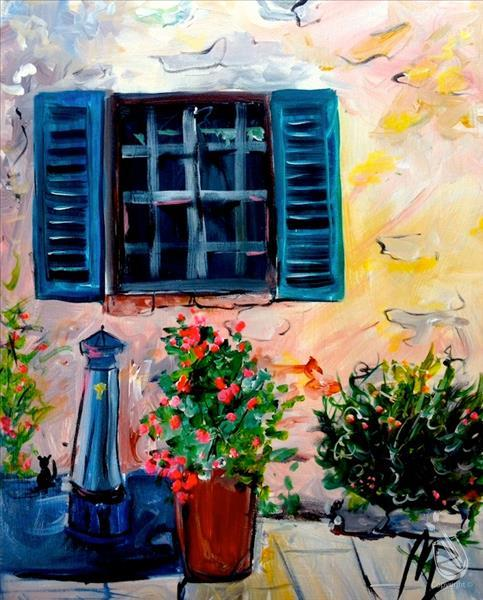 Window in Tuscany