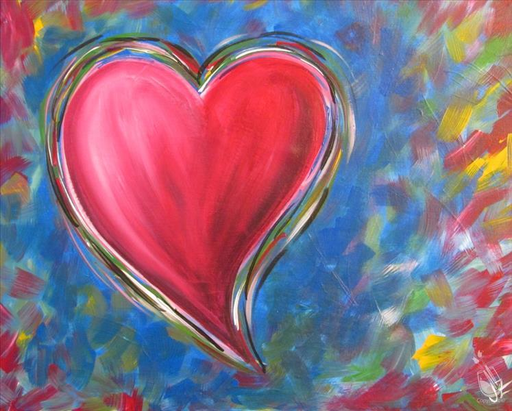 Follow Your Heart & Paint w/ US! 13+